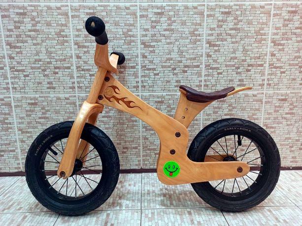 Редкий эксклюзивный деревянный беговел велобег Early Rider Lite