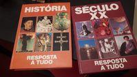 Coleção 2 volumes-Historia e Séc. XX Resposta a Tudo -Vintage