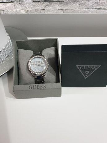 Zegarek guess srebrny
