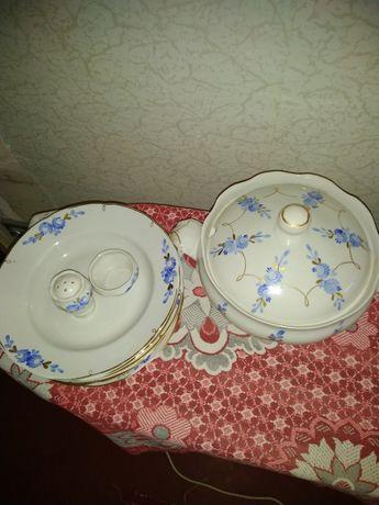 Набор посуды времён СССР
