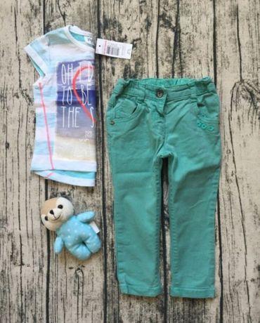 Джинсові штани Next 9-12м 80 см некст джинси