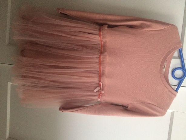 MANGO 2020 sukienka tiul 128
