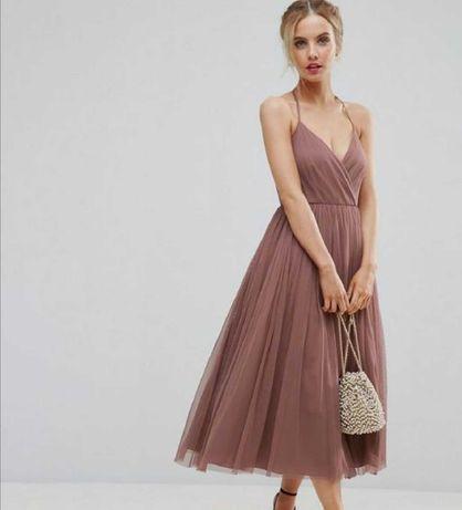 Красивое, вечернее выпускное платье asos