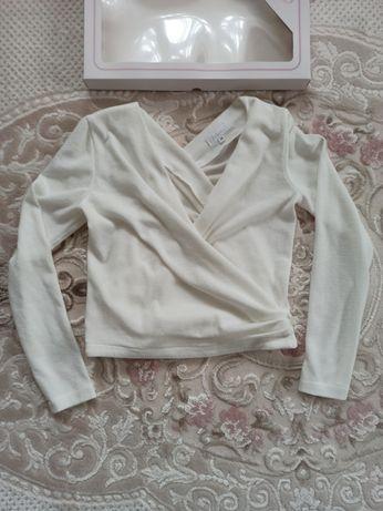 NOWE nowa etola bolerko sweterek ślubny ecru ivory rozmiar 36