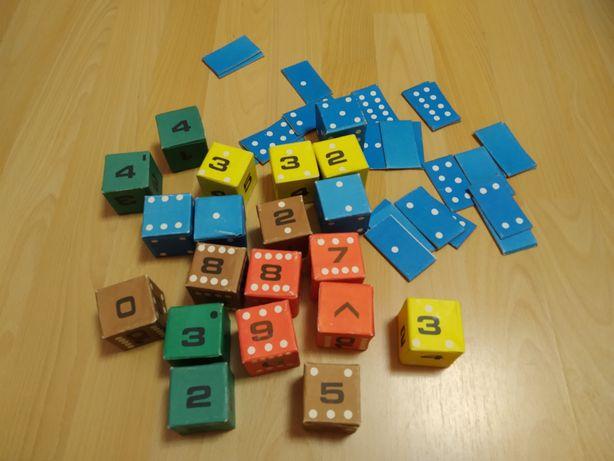 Математические кубики. Развивающая игра