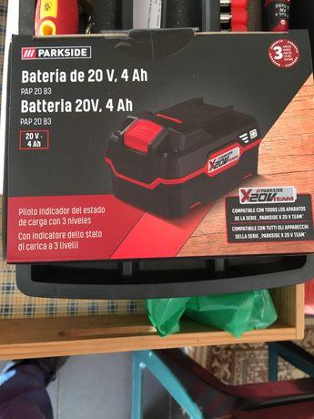 Vendo bateria parkside 4amperes