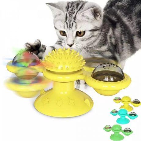 Игрушка для кошек развивающая totate windmill cat toy