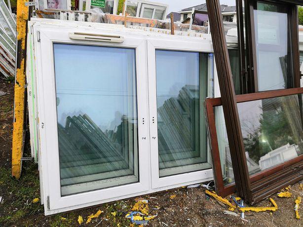 Okna PCV, 2-skrzydłowe