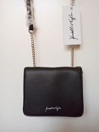 Mała torebka listonoszka na łańcuszku Kendall+Kylie
