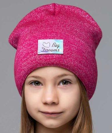 Вязаная шапка модели дримс