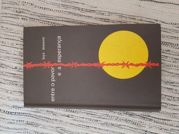 """Livro """"Entre o pavor e a esperança"""" e """"Um rosto na vidraça"""""""