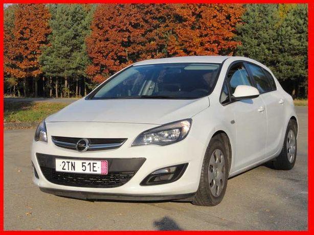 Opel Astra J Lift 1.4 benzyna 101 KM. 2014 r. 100% serwisowany