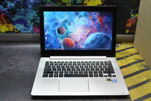Asus VivoBook S300CA Intel i5 3317U/4GB/500GB/Сенсорный.