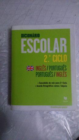 Dicionário de Inglês - 2º Ciclo