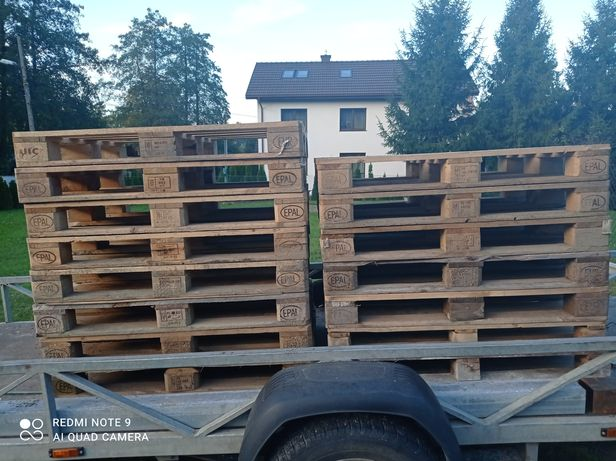 Palety drewniane stan idealny. Epal. Euro palety 120/ 80. 13 szt