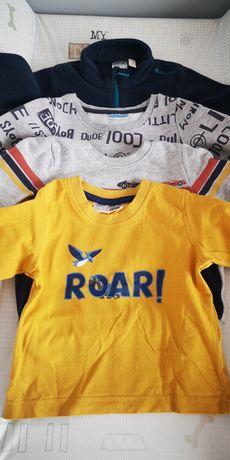 Bluzeczki dla chłopca r. 74