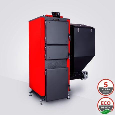 Kotły Piece 5 KLASA Piec Kocioł 19 kW do 200m²z Podajnikiem Ekogroszek