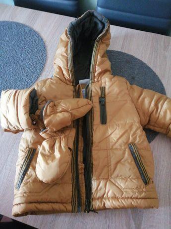 Kurtka zimowa chłopięca 74cm