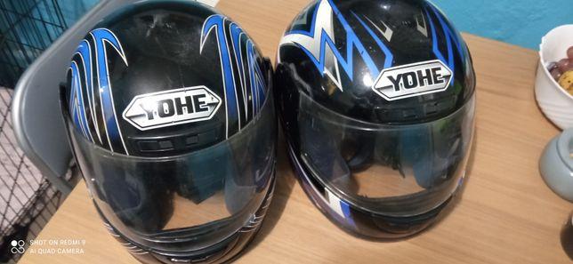 Kask motocyklowy Yohe rozmiar s i rozmiar L