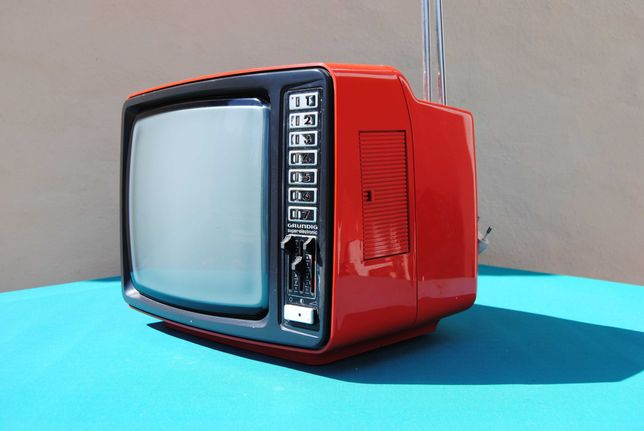 TV Televisão Grundig Exclusiv 1452 IT Vemerlha Vintage Space Age 70´s
