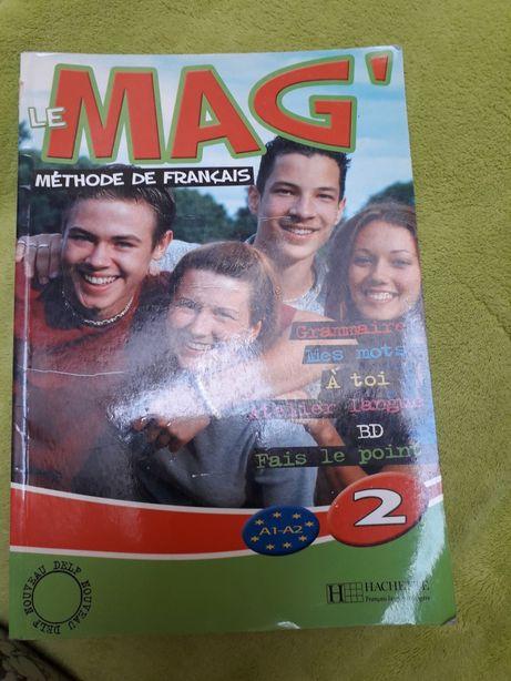 La Mag Methode de Francais podrecznik
