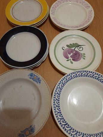 Тарелки разные для вторых блюд