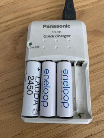 Ładowarka PANASONIC BQ-395 do akumulatorków AA/AAA