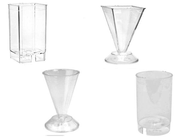 Plastikowa foremka do świec wosku parafiny w różnych wzorach
