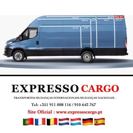 Transportes Mudanças Logística Braga Porto Lisboa Algarve 24Horas