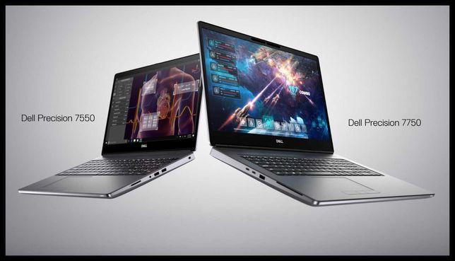 Эксклюзив!Dell Precision 7750   Intel i9-10885   64 RAM   RTX 4000 8Gb
