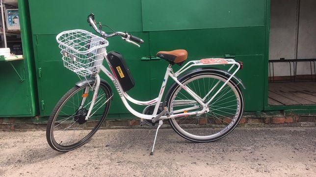 Електровелосипеди на газовій ручкі!!! Корзина+ свет+сигнал!!!
