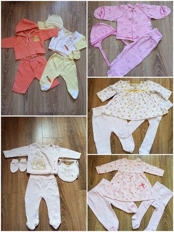 Пакет 0-3, штаны, кофта, крестины, платье, лот, костюм