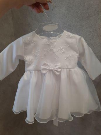 Sukienka do chrztu dla dziewczynki rozmiar 62