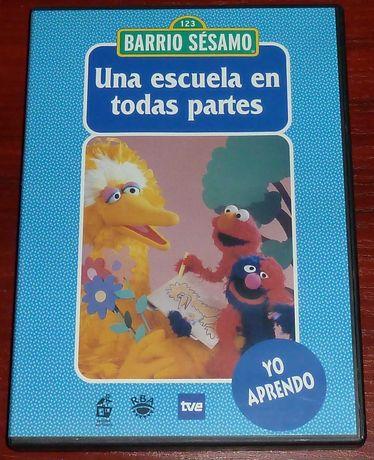Ulica Sezamkowa DVD Język Hiszpański nr 7