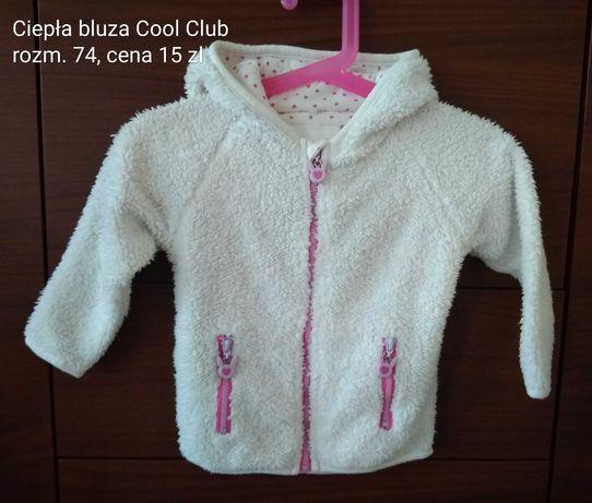 Ciepła bluza Cool Club rozm. 74