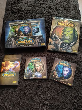 Gra Warcraft Of World 2 CD komplet. Nowa!