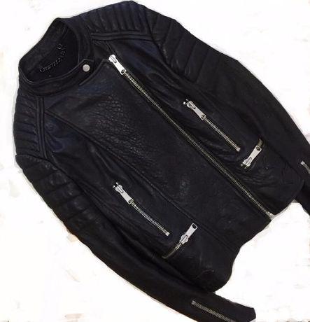 куртка косуха женская кожаная натуральная кожа демисезон осень весна