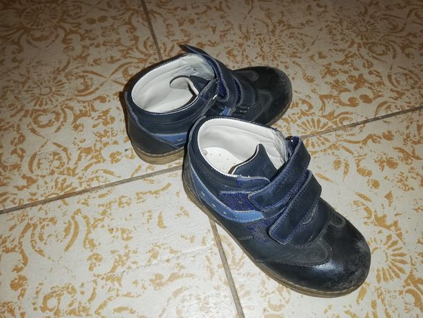 Туфли ортопедические, кожаные, ботинки