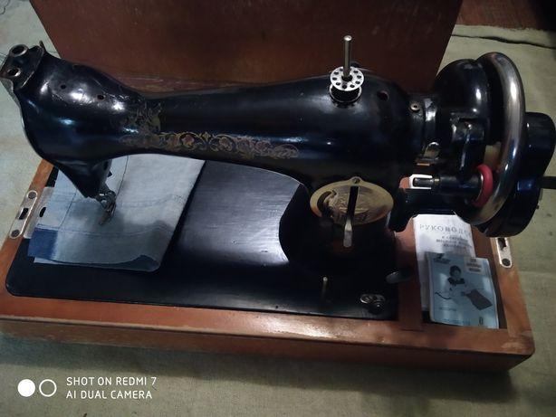 """Ручная швейная машина """"подолка""""."""