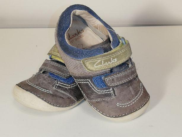 Półbuty Clarks First Shoes roz. 20 (3,5 UK) wkładka 12,4 cm