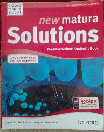 New matura Solutions 1 - język angielski podręcznik
