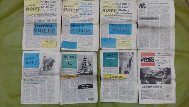 retro gazeta Tygodnik Nowy Tygodnik Pilski vintage - region PIła