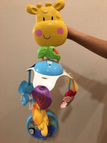 Mobil musical girafa da Fisher Price com