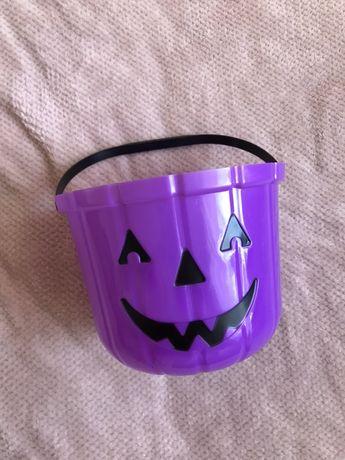 wiaderko kubełek na słodycze na halloween