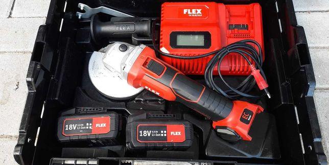 FLEX L125 18,0-EC szlifierka kątowa + tarcze