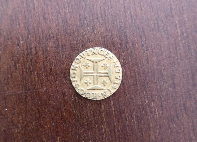 "Moeda de 400 Réis - D. José I - 1771 - ""Pinto"" de ouro"