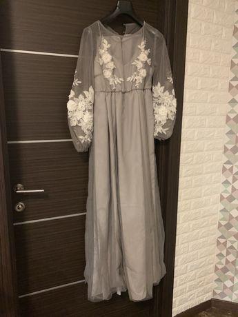 СРОЧНО! Продаётся свадебное платье, собственного эскиза