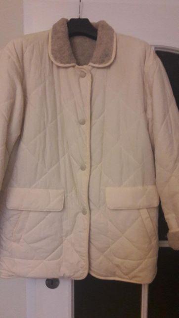 Kurtka pikowana kożuszek USA M L XL nowa futro krótkie 42 44 46
