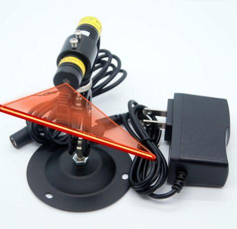 Лезерный указатель пропила (красный) 100мВт (лазерная линия) - лазер