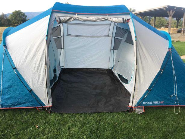 Namiot kempingowy Quechua Arpenaz 4.2 4-osobowy, 2 sypialnie